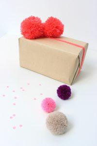 idee fai da te decoro pacchi regalo