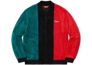 giacca tessuto velour effetto velluto