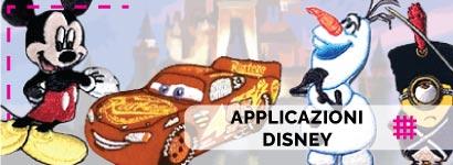 Applicazioni Disney, ampissima scelta tra tantissimi soggetti per i più piccini sia da bambino che da bambina contantissimi personaggi.