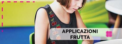 Applicazioni Frutta, ampissima scelta tra tantissimi soggetti per i più piccini sia da bambino che da bambina ma anche per i più grandi con tantissime etichette termoadesive da donna e da uomo.