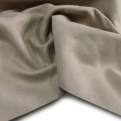 tessuto arredo alcantara grigio