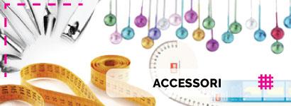 Accessori per cucito, scopri la varietà di articoli del nostro reparto merceria online.