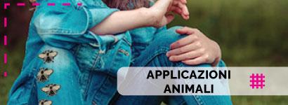 Applicazioni Animali, ampissima scelta tra tantissimi soggetti per i più piccini sia da bambino che da bambina ma anche per i più grandi.