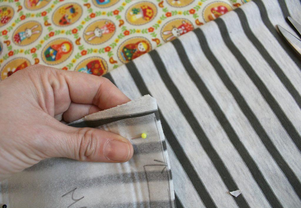 Tutorial T Shirt Maglietta Bambino Tessuto Maglina Di Cotone