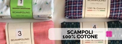 SCAMPOLI 100% COTONE