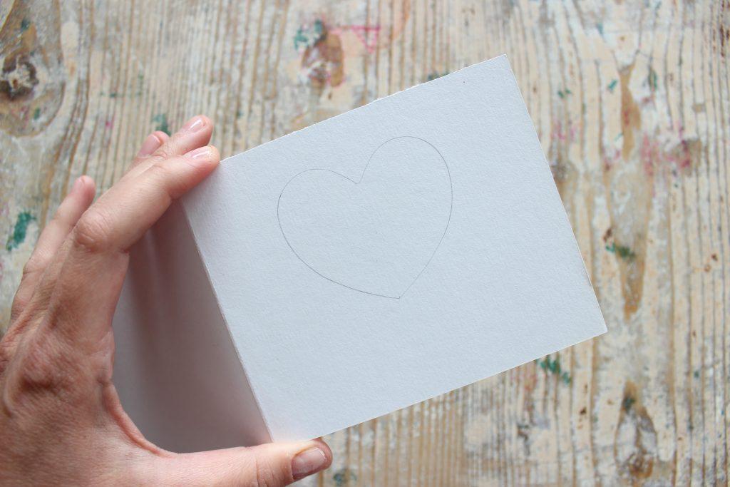 tutorial biglietto festa della mamma filati per ricamo a mano