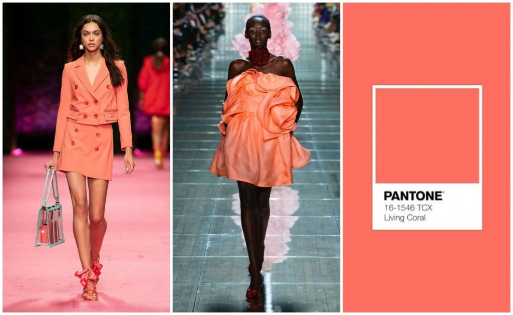 tendenza moda colore pantone 2019 living coral