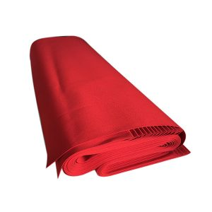 tessuto da esterno tinta unita rosso