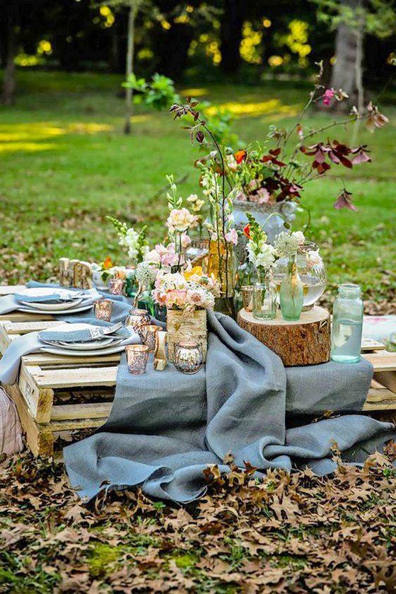 allestimento matrimonio picnic campagna