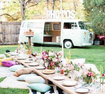 pranzo festa matrimonio giardino