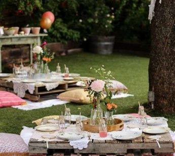 festa giardino picnic