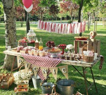 festa compleanno picnic party