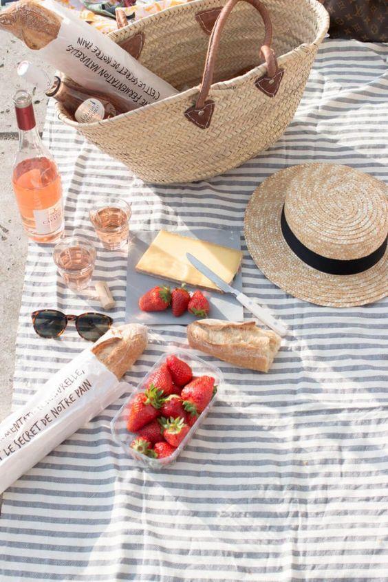 picnic estate spiaggia mare