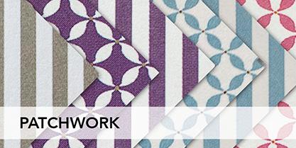 Il patchwork è una tecnica creativa che consiste nell'unione di più tessuti, di diverso colore, per dare vita alle tue idee creative più originali.