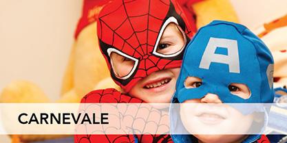 Abbiamo a disposizione tantissimi tessuti per il Carnevale, la festa delle feste, ricca di colore e fantasia!