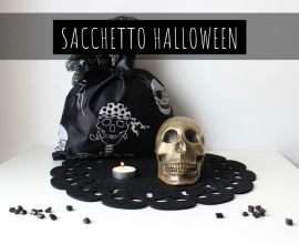 tutorial halloween sacchetto fai da te
