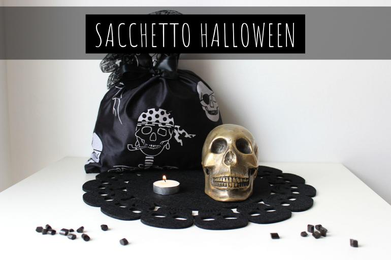 tutorial halloween sacchetto fai da te