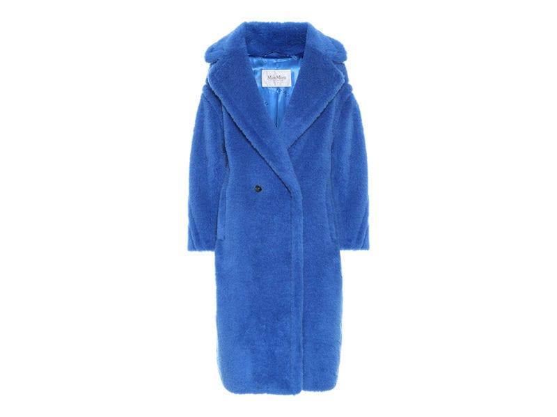 cappotto pelliccia classic blue