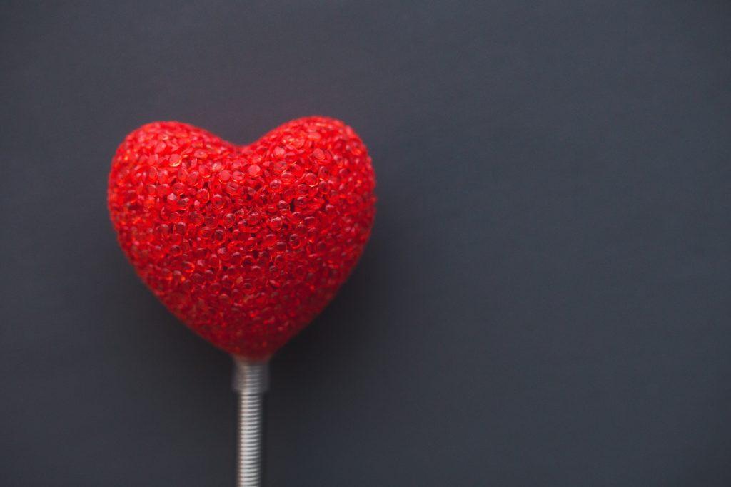 cuore rosso san valentino ide aregalo