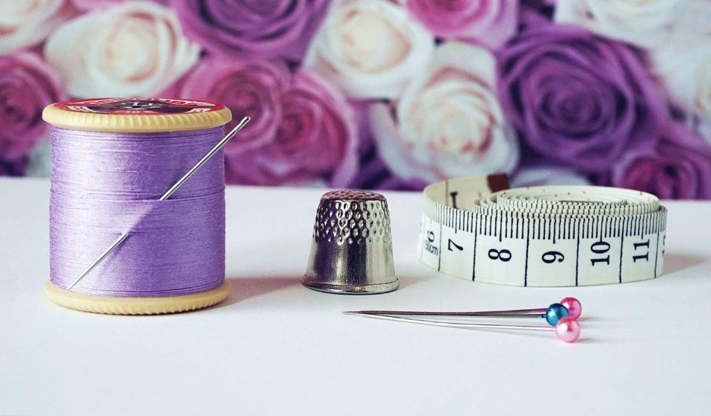 filo di cotone lilla