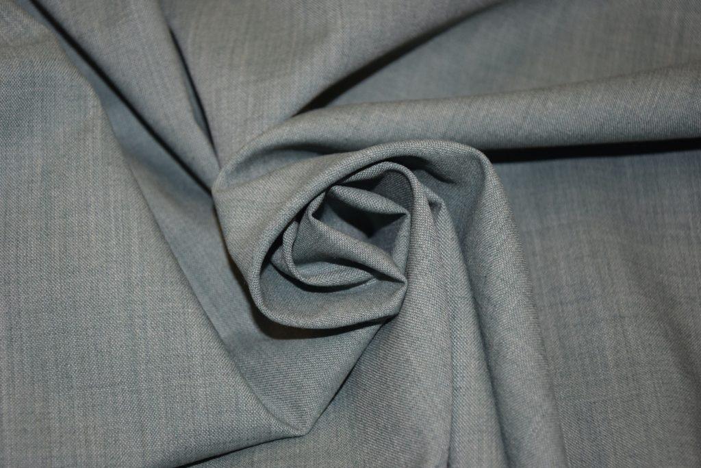 tessuto grigio fresco lana