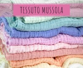 caratteristiche utilizzo tessuto mussola
