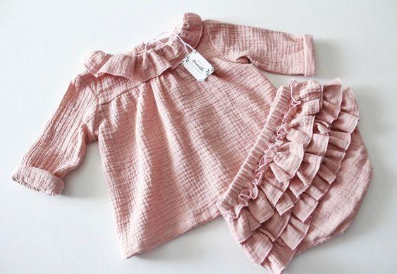 vestitino neonato rosa cotone