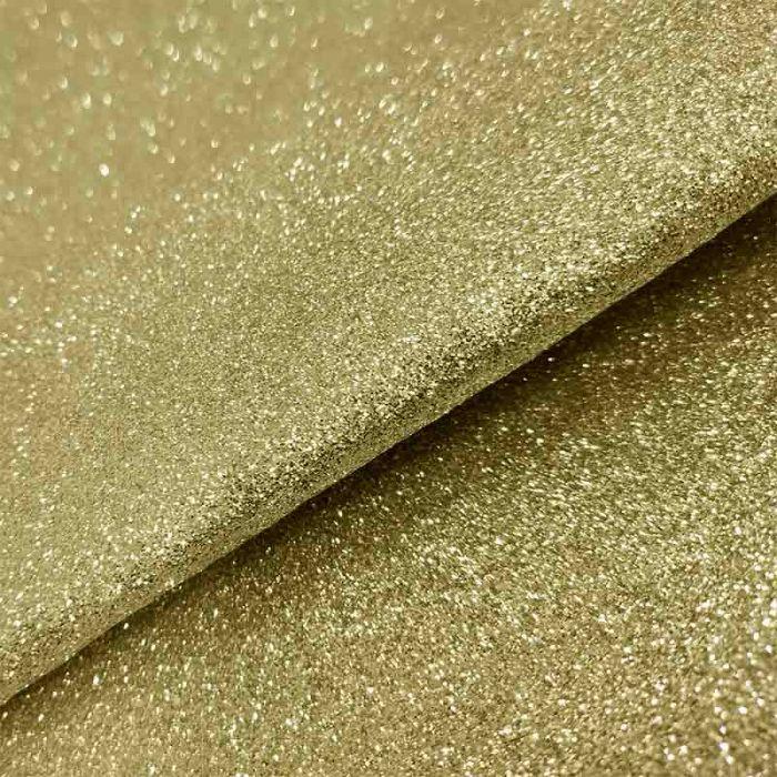 tessuto oro glitter carnevale feltro pannolenci