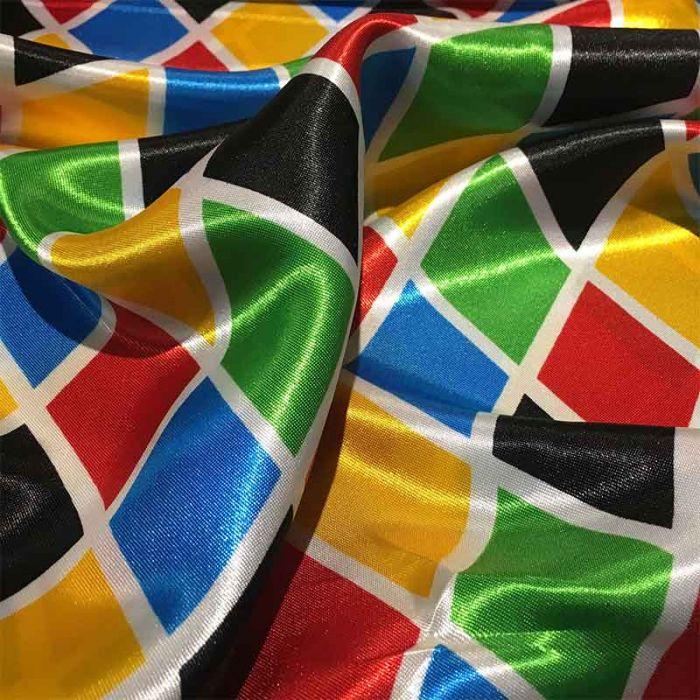 tessuto arlecchino per costumi di carnevale