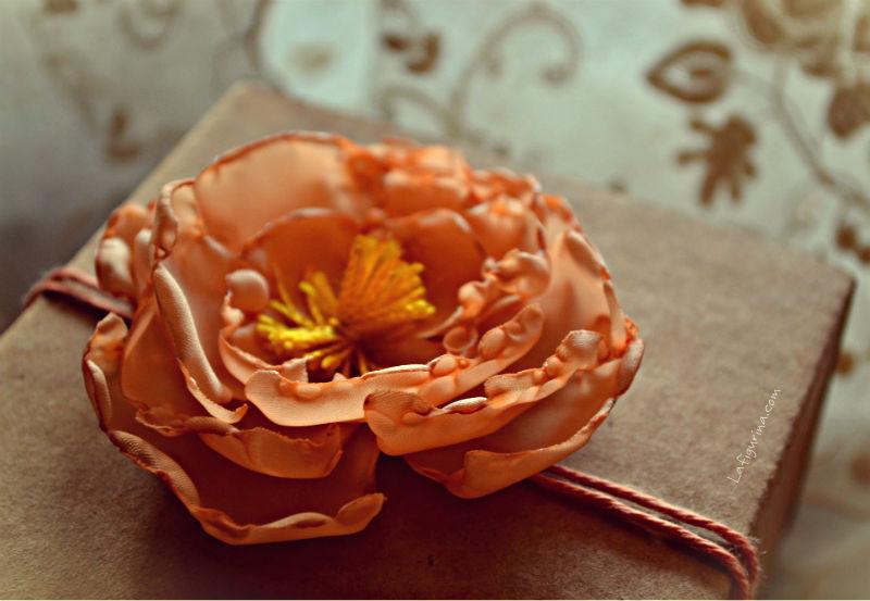 peonie in tessuto fai da te decorazione primavera