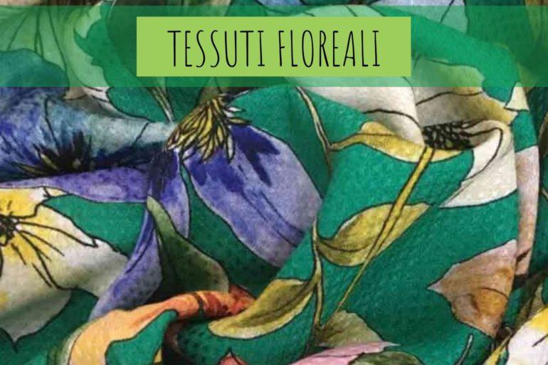 tendenze moda tessuti a fiori estate primavera