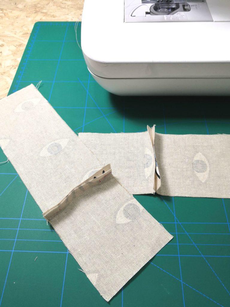 tutorial porta disinfettante per mani in stoffa
