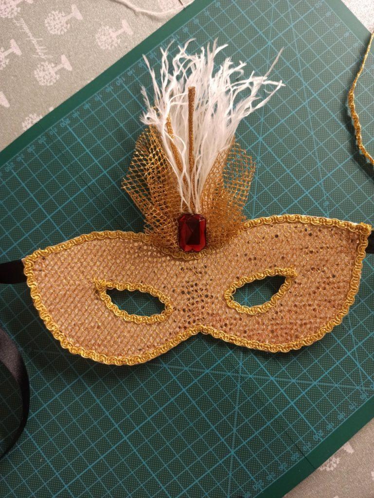 mascherina di carnevale tutorial