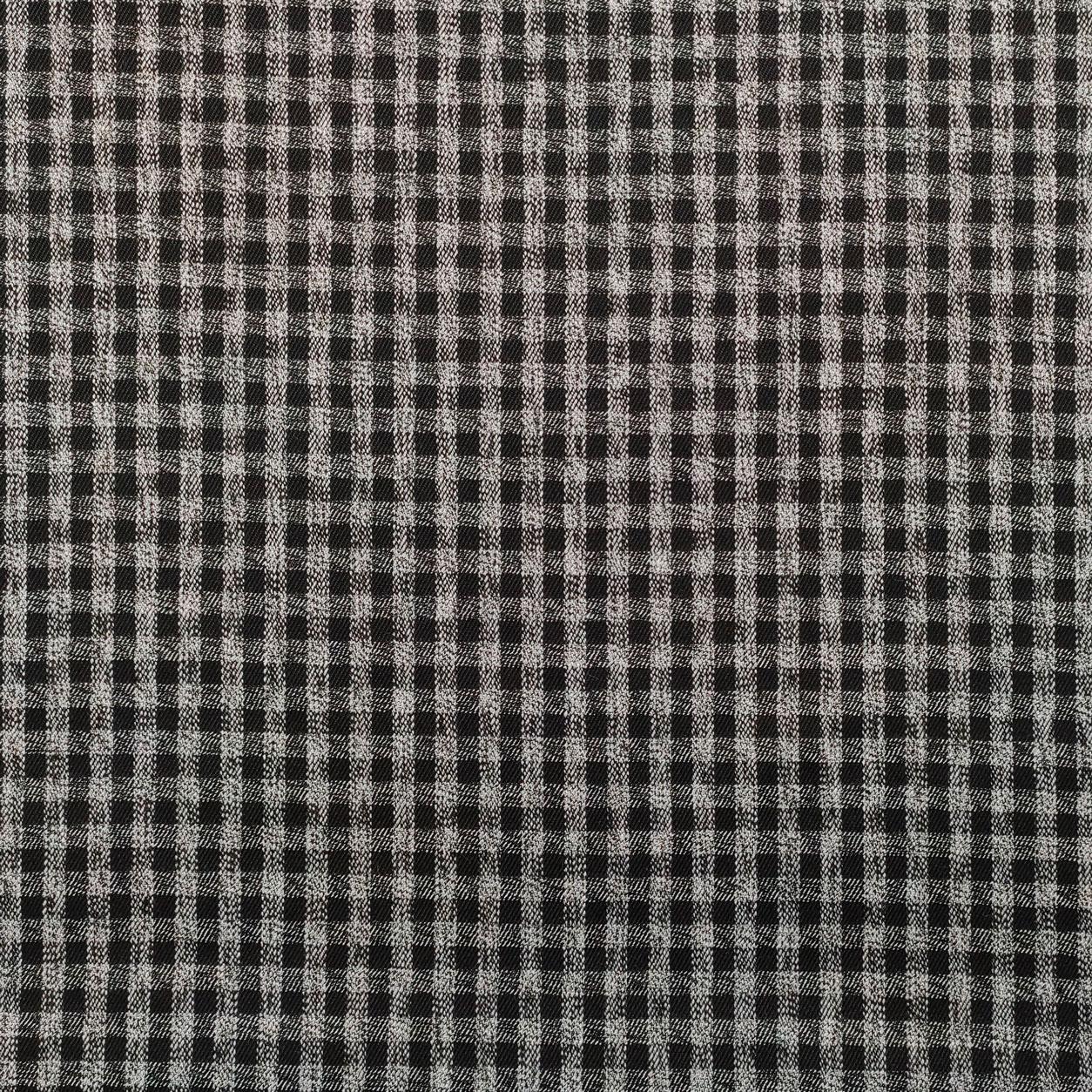 Tessuto Quadretto Bianco e Nero