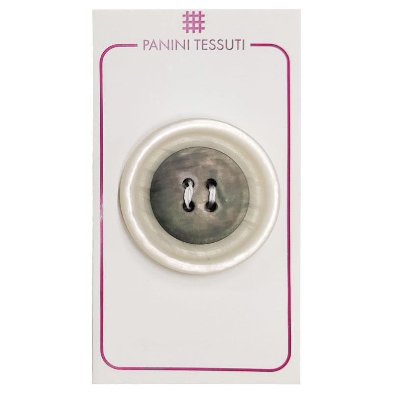 Bottone Effetto Marmo Colore Trasparente 1 Pezzo - Lin 60