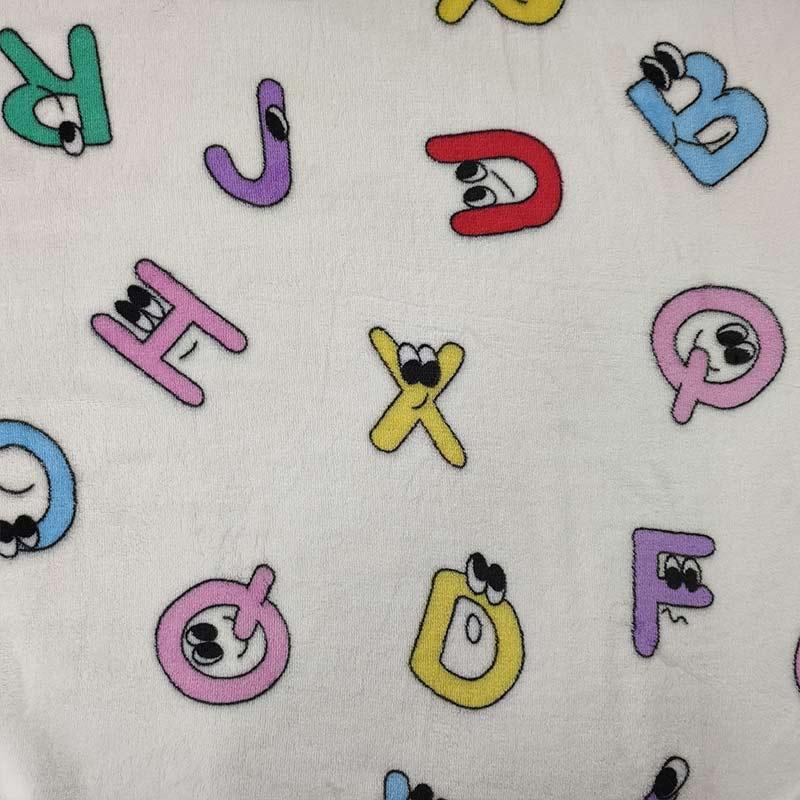 Pile Mano Cachemire Lettere Alfabeto