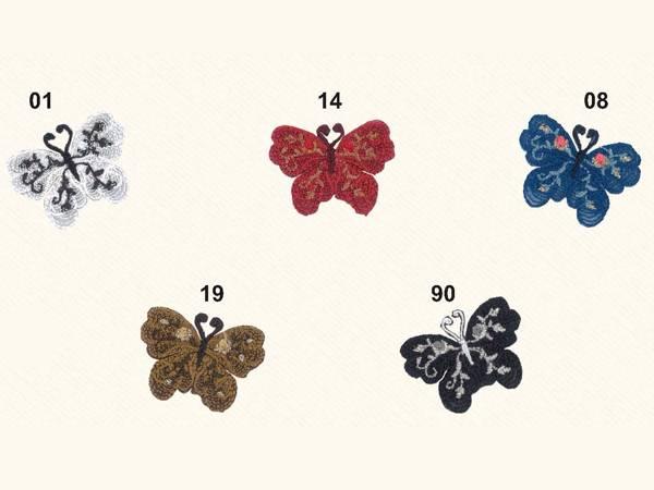 Applicazione Lurex Farfalla
