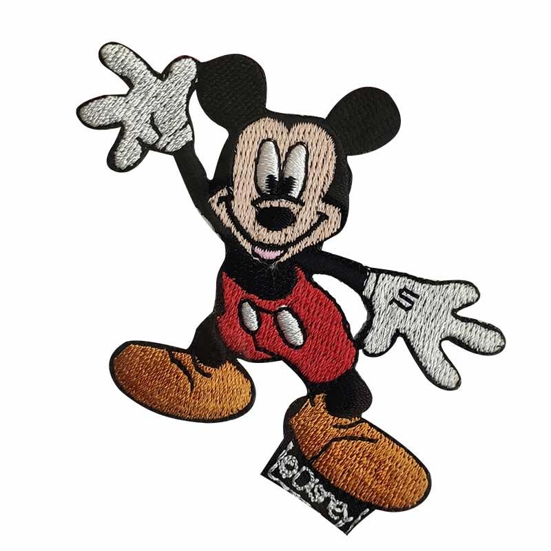 Applicazione Termoadesiva Disney Mickey Mouse Felice