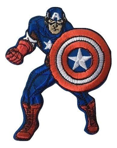 Applicazione Termoadesiva Marbet Marvel Captain America con Scudo