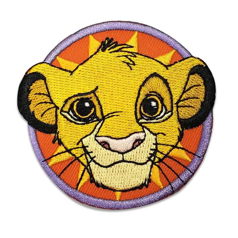 Applicazione Termoadesiva Disney Re Leone Simba