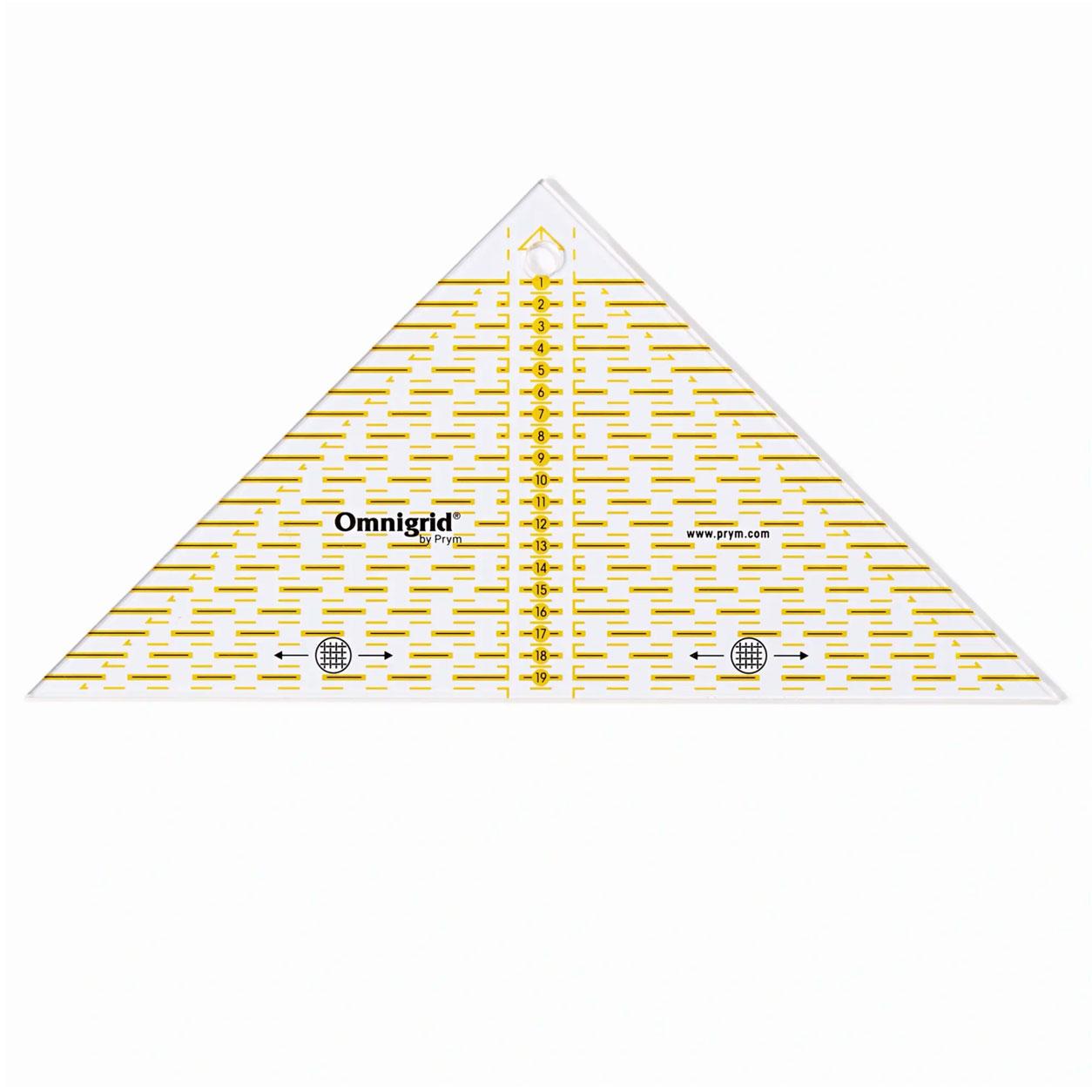 Triangolo Prym con Scala in cm