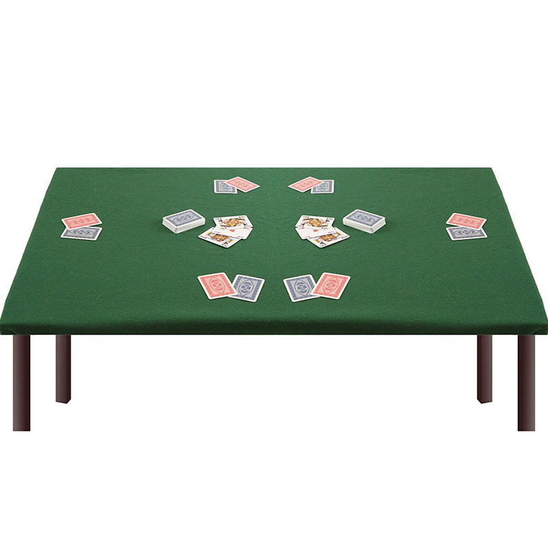 Tovaglia Rettangolare per Tavolo da Gioco con Angoli ed Elastico