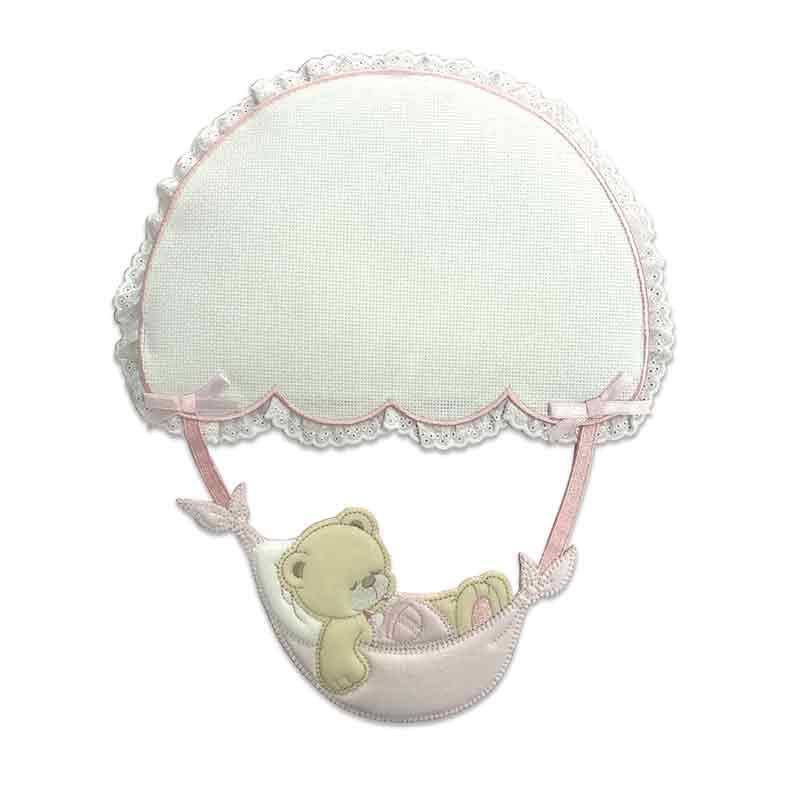 Fiocco Nascita Orsetto con Paracadute