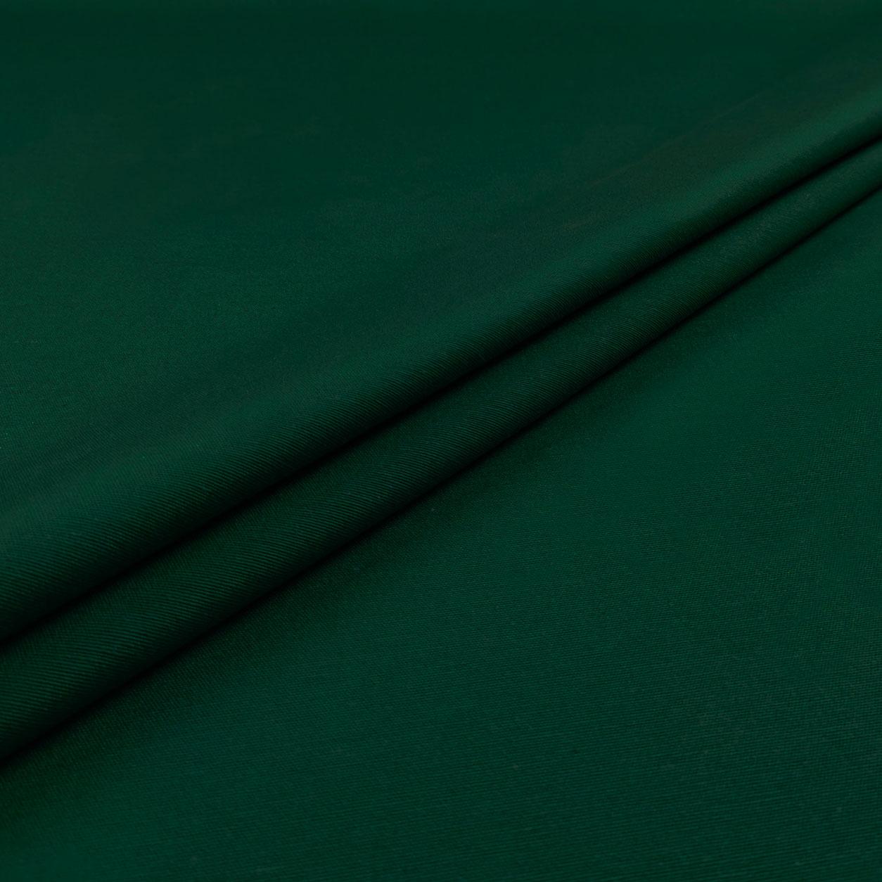 Tessuto Misto Cotone Tinta Unita Verde
