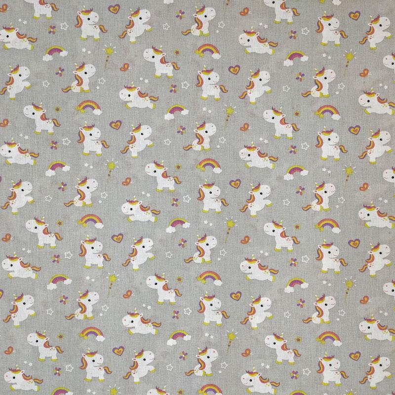 Rasatello Cotone Piccoli Unicorni