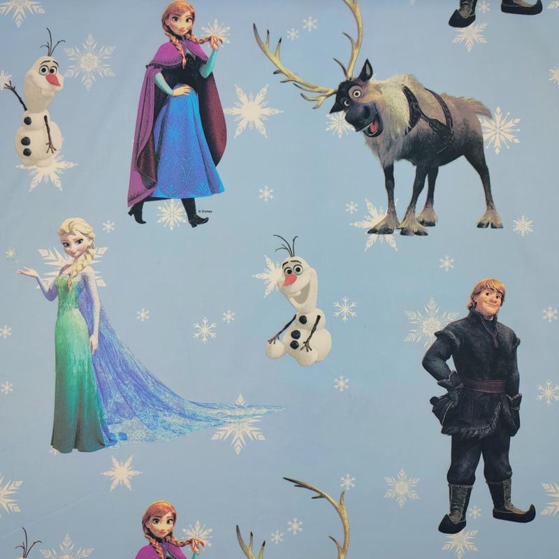 Tessuto Cotone Disney Frozen e il Regno di Ghiaccio