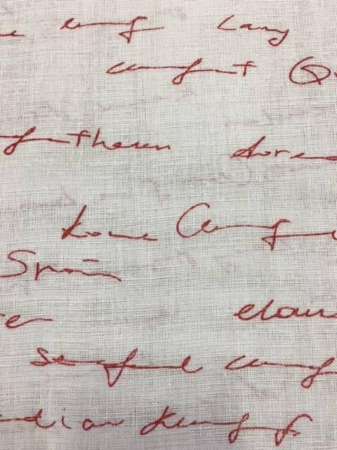 Tendini Confezionati Scritte Rosso