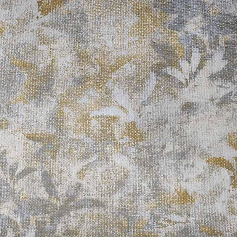 Tessuto Jacquard fantasia Floreale Stilizzata Grigia