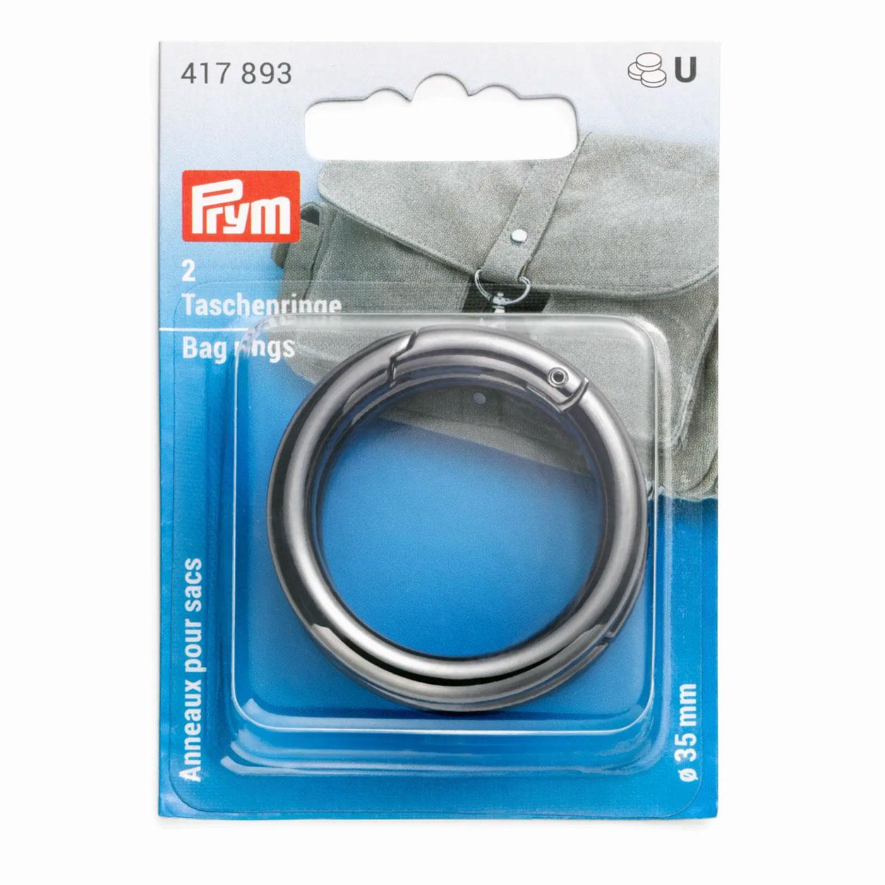 Anelli per Borse 35 mm Prym