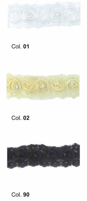Passamaneria rose h 3 cm